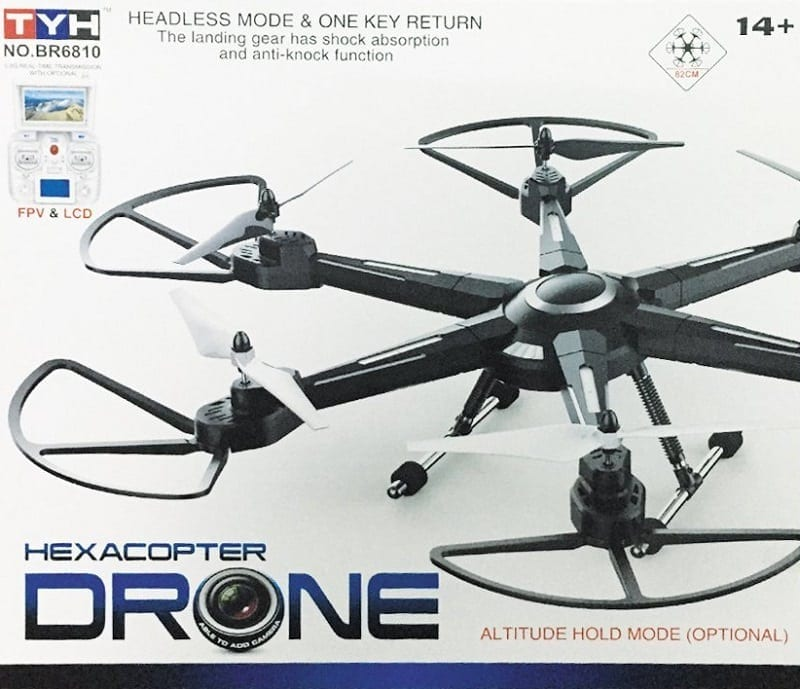 XuanLei Headless Mode 6-Axis 2.4GHZ RC Quadcopter Drone