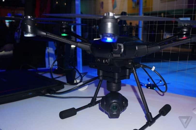 Yuneec Typhoon H480 camera