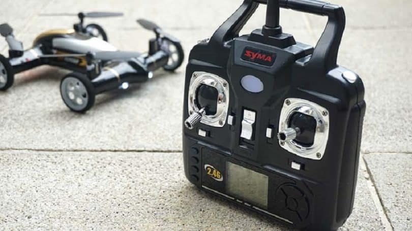 Syma X9 with controller