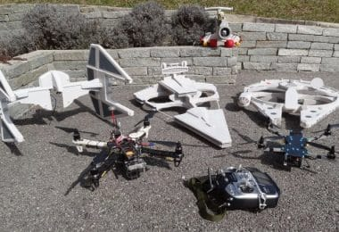building a drone vs buying one