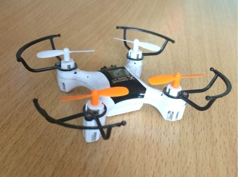 X-Drone Nano 2.0 on the floor