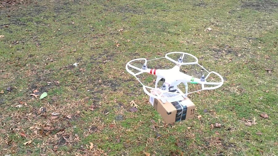 DJI Phantom 4 with package
