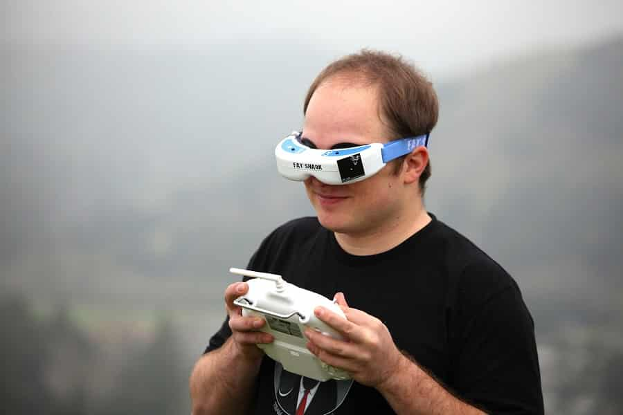 FPV racing goggles