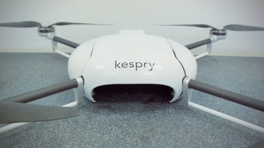 Kespry drone front side