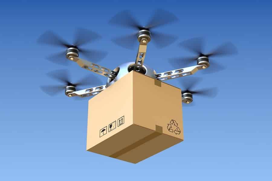 RTF Drone Models delivery