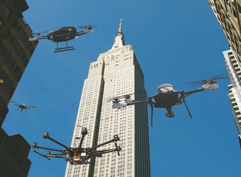 Drone trends in the city
