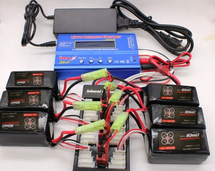 Parallel Charging Lipo Batteries