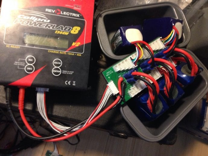 Correctly Inserted Lipo Batteries