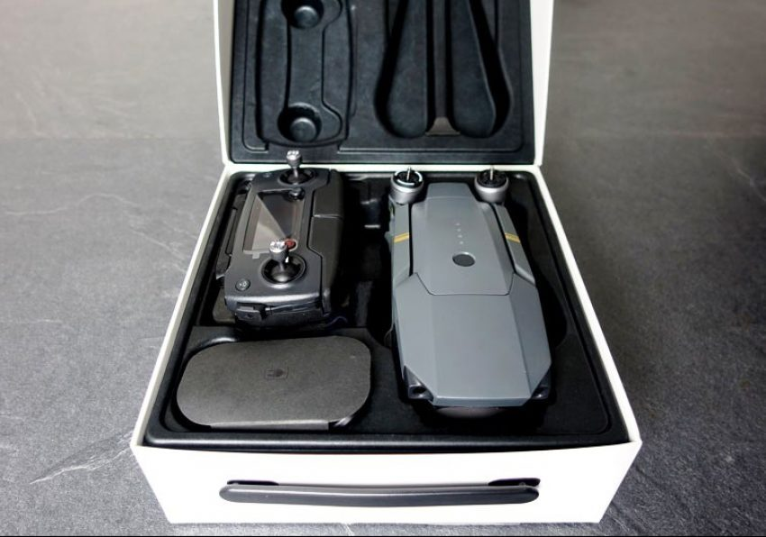 DJI Mavic Pro Packaging